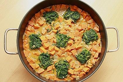 Süßkartoffel - Curry 4