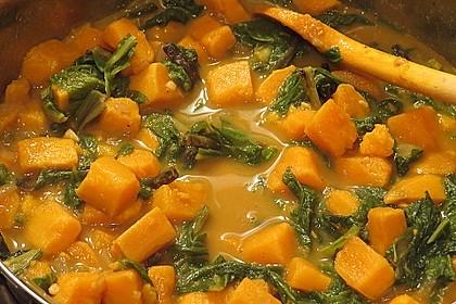 Süßkartoffel - Curry 9