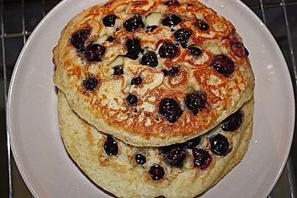Heidelbeer - Pfannkuchen 1