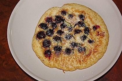 Heidelbeer - Pfannkuchen 3