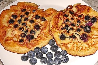 Heidelbeer - Pfannkuchen 2