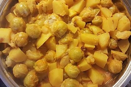 Rosenkohl-Curry 9