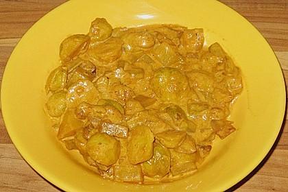 Rosenkohl-Curry 21