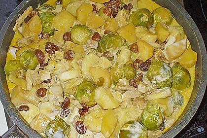 Rosenkohl-Curry 12