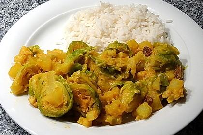 Rosenkohl-Curry 3