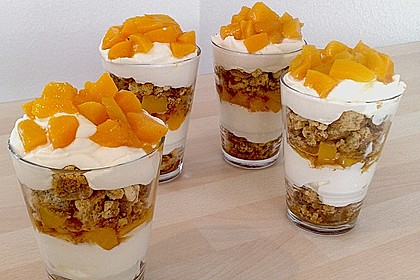 Pfirsich - Cantuccini - Trifle 1