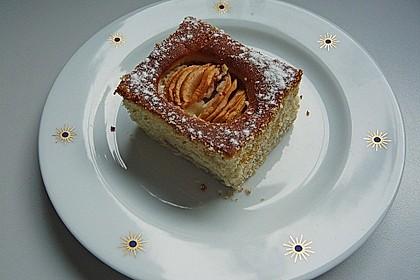 Apfel - Marzipan - Schnitten