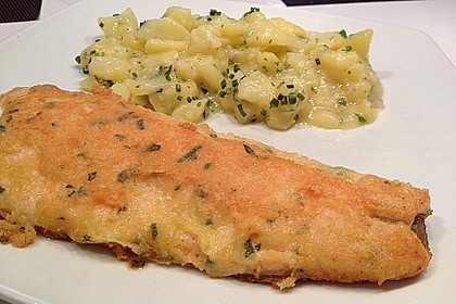 Fischfilet in Rosmarin - Pecorino - Kruste 1