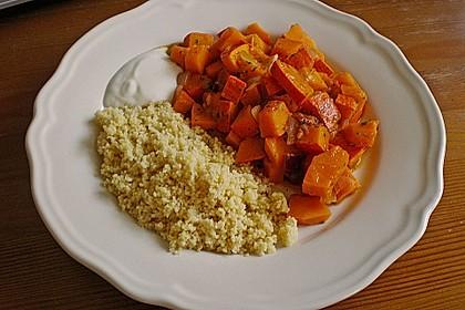 Kürbis-Pflaumen-Gemüse 3
