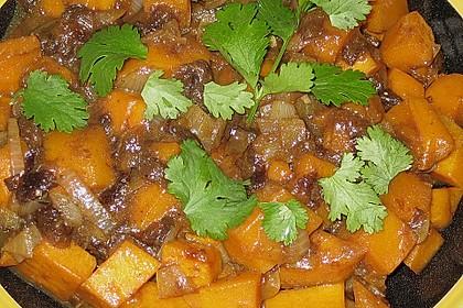 Kürbis-Pflaumen-Gemüse 8