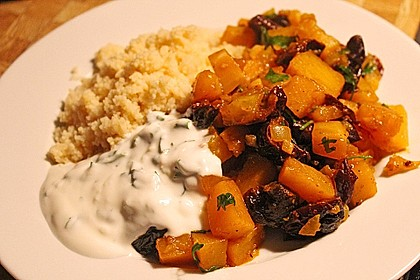 Kürbis-Pflaumen-Gemüse 1