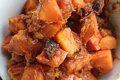 Kürbis-Pflaumen-Gemüse 2