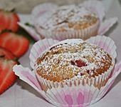 Erdbeermuffins (Bild)
