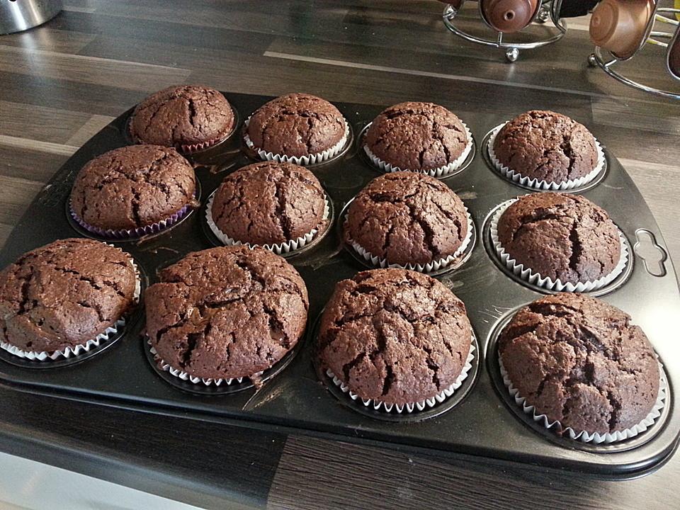 Die besten schoko muffins rezept