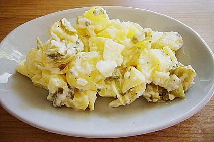 Gemüsiger Kartoffelsalat