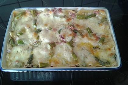 Spargel - Schinken - Lasagne 38