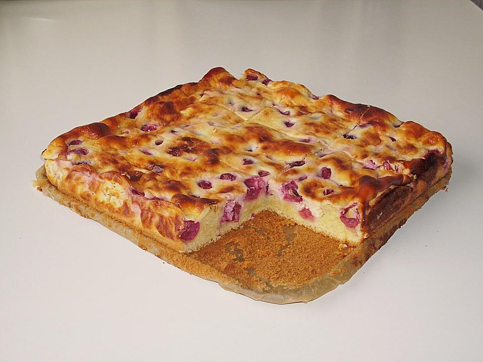 Saftiger Kirsch Schmand Kuchen Von Anitagc Chefkoch De