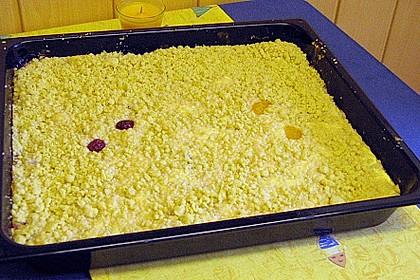Käsekuchen mit Obst 5