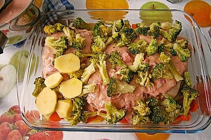 Brokkoli - Kartoffel - Auflauf 10