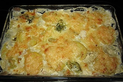 Brokkoli - Kartoffel - Auflauf 2