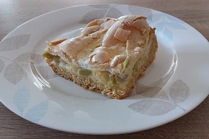 Rhabarberkuchen mit Baiser 52