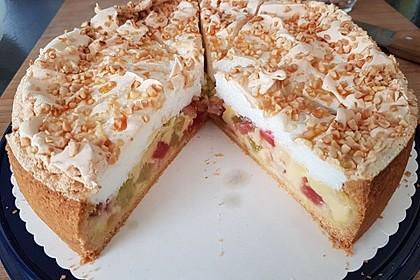 Rhabarberkuchen mit Baiser 10