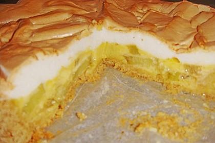 Rhabarberkuchen mit Baiser 155