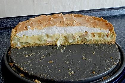 Rhabarberkuchen mit Baiser 70