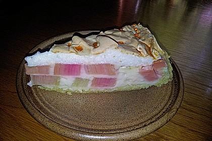 Rhabarberkuchen mit Baiser 60