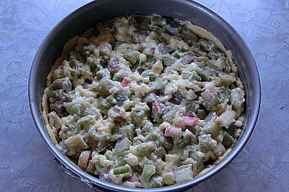 Rhabarberkuchen mit Baiser 120