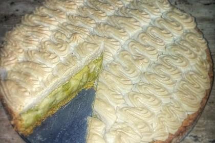Rhabarberkuchen mit Baiser 33