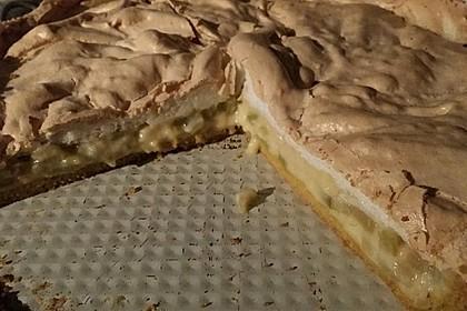 Rhabarberkuchen mit Baiser 144