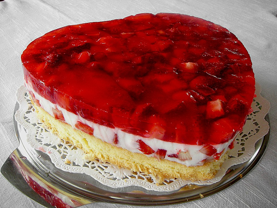 Rezept Herzform Kuchen