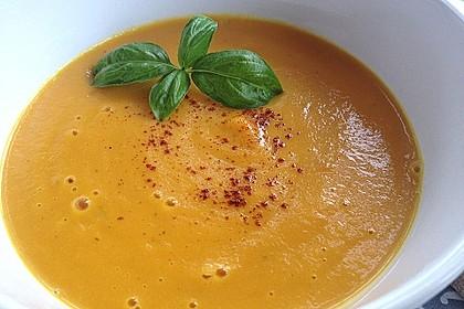 Möhren - Cremesuppe (Bild)