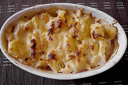 Kartoffelgratin mit Birnen 1