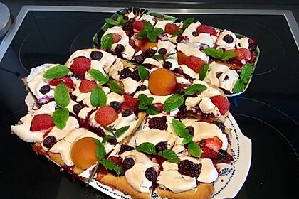 Bunter Sommerkuchen *Obstgarten im Schnee* 4