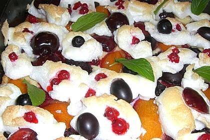 Bunter Sommerkuchen *Obstgarten im Schnee* 12