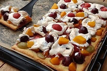 Bunter Sommerkuchen *Obstgarten im Schnee* 11