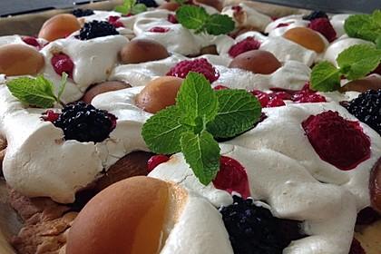 Bunter Sommerkuchen *Obstgarten im Schnee* 3