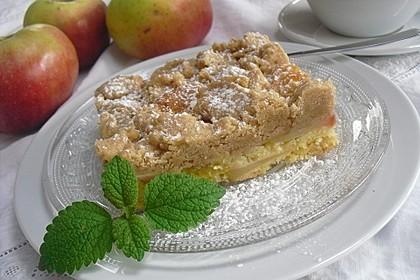 Schneller Apfel - Streusel vom Blech 2
