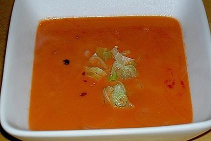 Tomaten - Kokos - Suppe