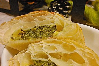 Kalte Spinat - Feta - Taschen 2