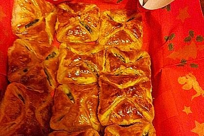 Kalte Spinat - Feta - Taschen 8