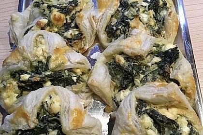 Kalte Spinat - Feta - Taschen 7
