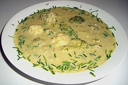 Bluccoli - Cremsuppe