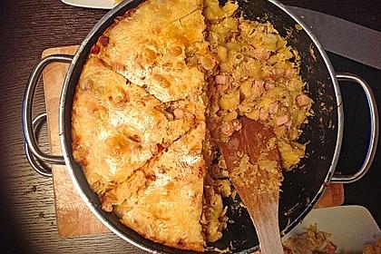 Kasseler - Auflauf mit Sauerkraut und Nudeln 4