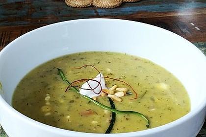 Zucchini-Kartoffel-Suppe 10