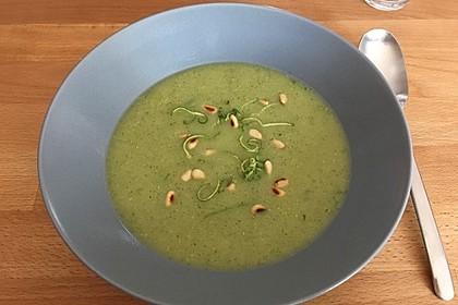 Zucchini-Kartoffel-Suppe 14