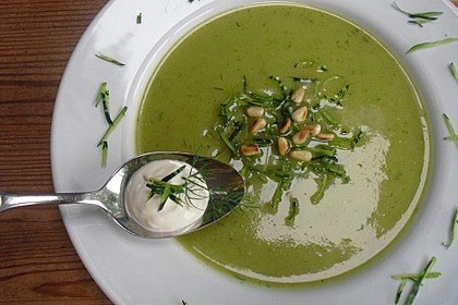 Zucchini-Kartoffel-Suppe 2