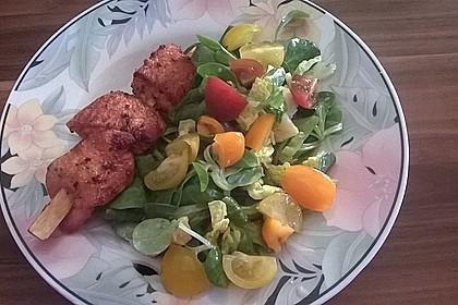 Hühnerspieße auf maurische Art